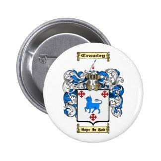 Crawley 6 Cm Round Badge