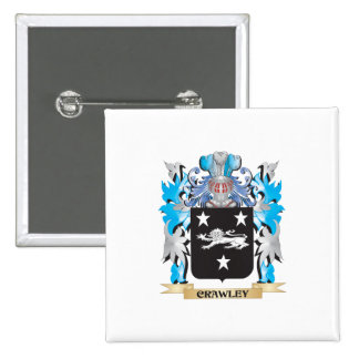 Crawley Coat of Arms - Family Crest Pin