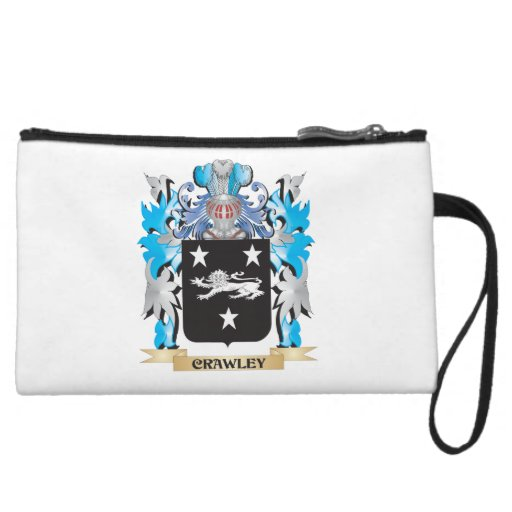Crawley Coat of Arms - Family Crest Wristlet
