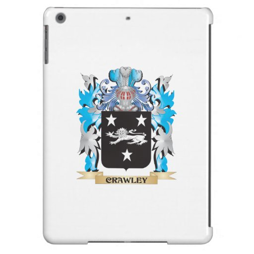 Crawley Coat of Arms - Family Crest iPad Air Covers