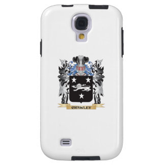 Crawley Coat of Arms - Family Crest Galaxy S4 Case