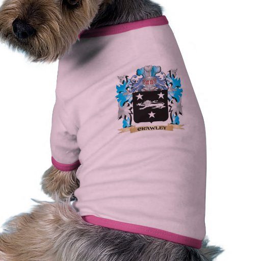 Crawley Coat of Arms - Family Crest Pet T-shirt