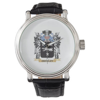 Crawley Coat of Arms - Family Crest Wristwatches