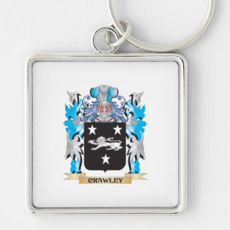 Crawley Coat of Arms - Family Crest Keychain
