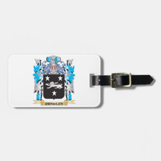 Crawley Coat of Arms - Family Crest Bag Tag