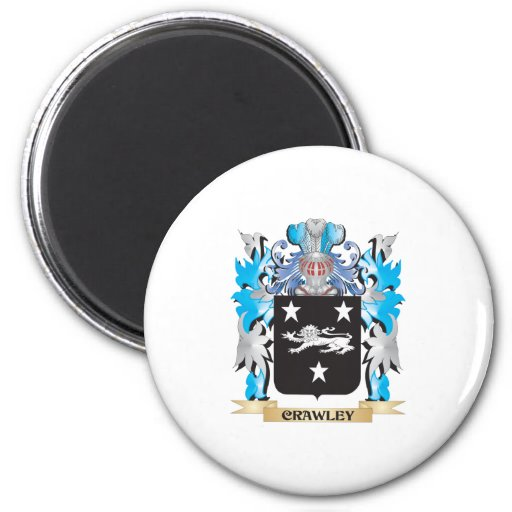 Crawley Coat of Arms - Family Crest Refrigerator Magnets