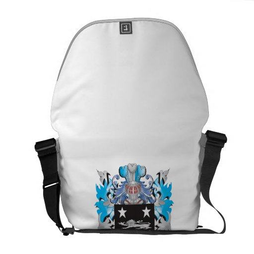 Crawley Coat of Arms - Family Crest Courier Bag