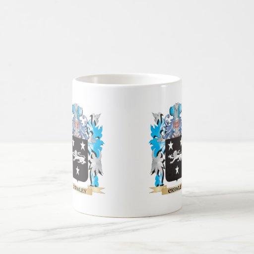 Crawley Coat of Arms - Family Crest Mug