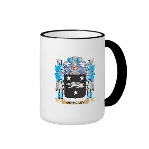 Crawley Coat of Arms - Family Crest Coffee Mug