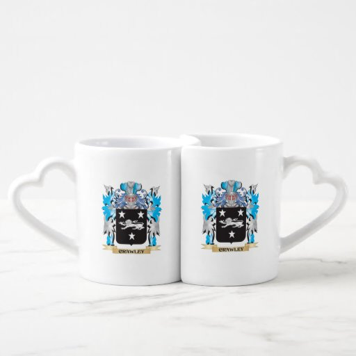Crawley Coat of Arms - Family Crest Lovers Mug