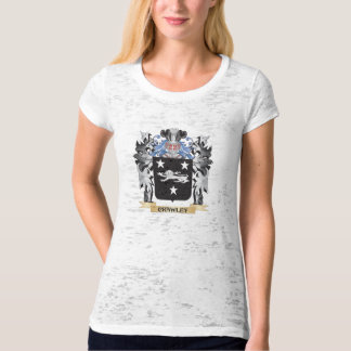 Crawley Coat of Arms - Family Crest Tee Shirt