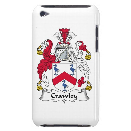 Crawley Family Crest iPod Touch Cover
