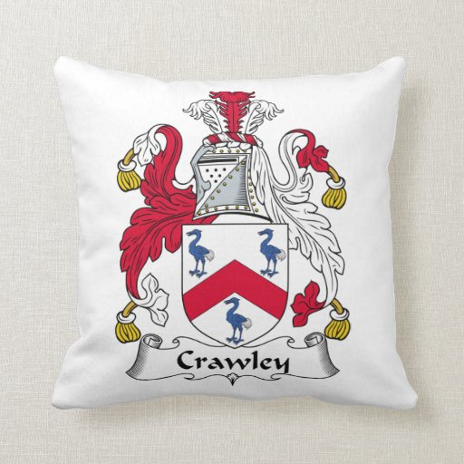 Crawley Family Crest Pillows