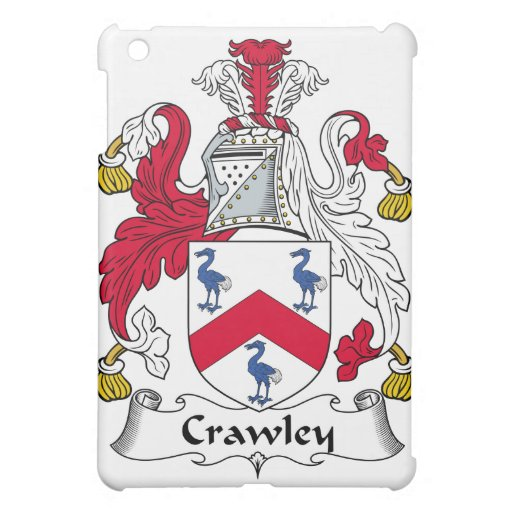 Crawley Family Crest Cover For The iPad Mini