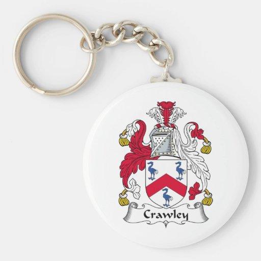 Crawley Family Crest Keychain