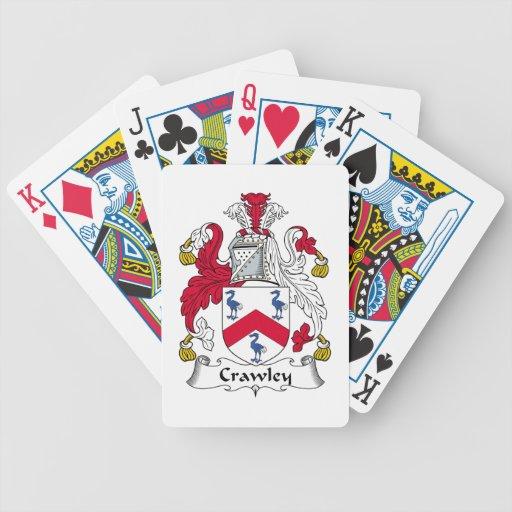 Crawley Family Crest Card Decks