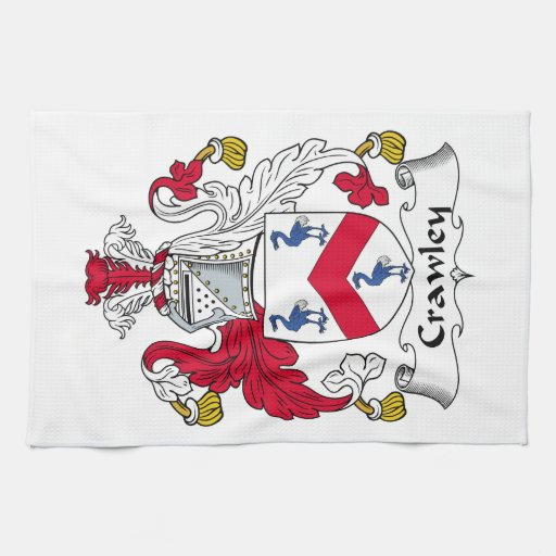 Crawley Family Crest Kitchen Towels