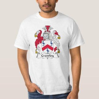 Crawley Family Crest Tee Shirts
