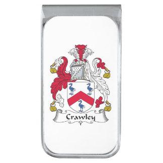 Crawley Family Crest Money Clip