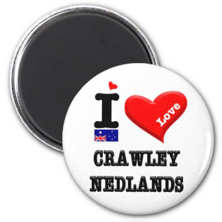 CRAWLEY-NEDLANDS - I Love Magnet