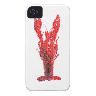 Crayfish Lobster with Knife and Fork iPhone 4 Case