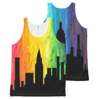 Crayon City Tank Top All-Over Print Tank Top