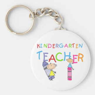 Crayon Kindergarten Teacher Tshirts and Gifts Key Ring