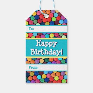 Crayon Polka Dot Gift Tags