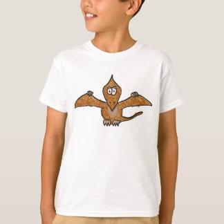 Crayon Pterodactyl Dinosaur Collection T-Shirt