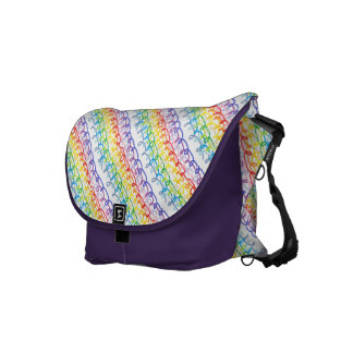 Crayon Swiggles Diaper Courier Bags