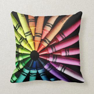Crayon Wheel Cushion