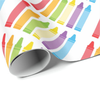 Crayon Wrapping Paper