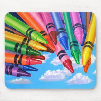 "Crayons ""Color Your World"" - Mouse Pad"