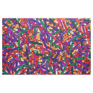 Crayons Kids Crayon  colorful Fabric
