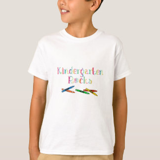 Crayons Kid's T-Shirt