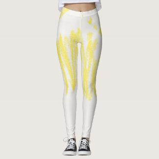 Crayons Yellow Leggings