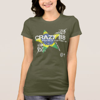 CRAZY 88 BRAZILIAN STAR T-Shirt