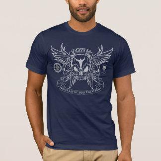 CRAZY 88 SKULL & BANNER T-Shirt