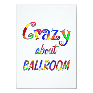Crazy About Ballroom Personalized Announcement