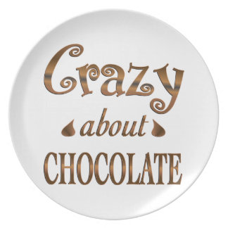 Crazy About Chocolate Party Plates