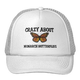 Crazy About Monarch Butterflies Trucker Hats