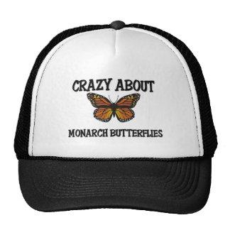Crazy About Monarch Butterflies Mesh Hats
