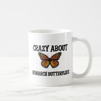Crazy About Monarch Butterflies Mugs