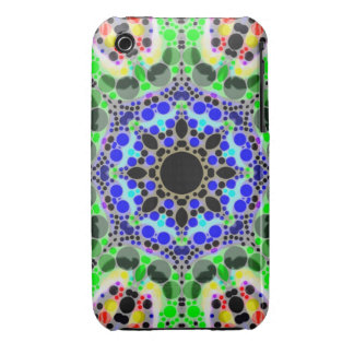 Crazy Abstract Case-Mate iPhone 3 Case
