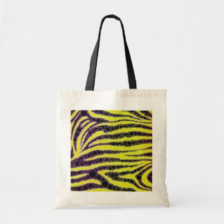Crazy Abstract Budget Tote Bag