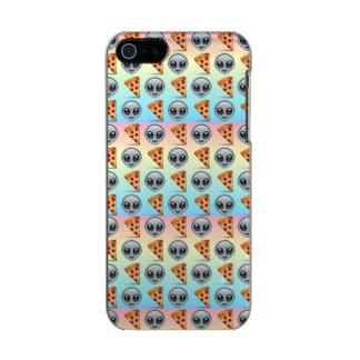 Crazy Aliens & Pizza Emoji Pattern Incipio Feather® Shine iPhone 5 Case