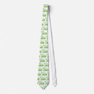 crazy alligator lady tie