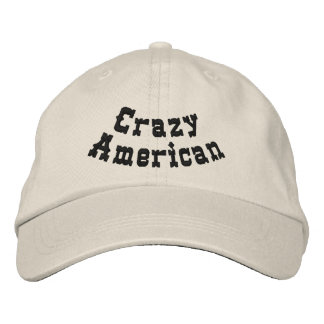 Crazy American Baseball Cap