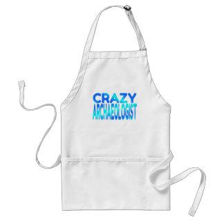 Crazy Archaeologist Standard Apron