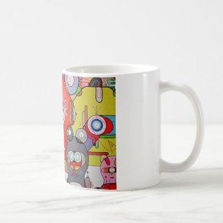 crazy art mug